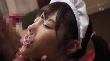 โป๊ โดนปี้ แตกใส่หน้า อารินา ฮาชิโมโตะ อมควย